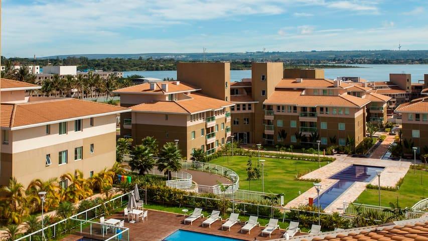 Flat em Resort-Área Nobre-5 minutos da Esplanada - Brasilia - Appartamento con trattamento alberghiero