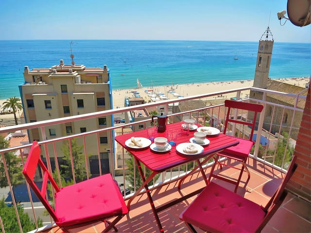 TIANA SEAVIEW & BEACH-apartment - Montgat - Daire