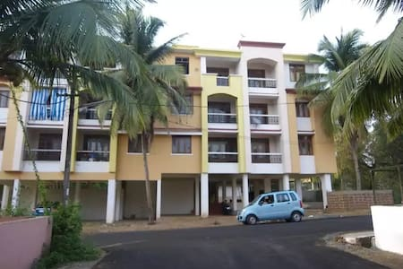 Colva Beach Peaceful Studio Apartment