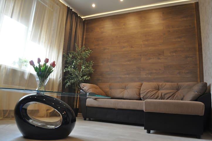 Английский квартал Wi-Fi,Smart TV - Rostov - Apartamento