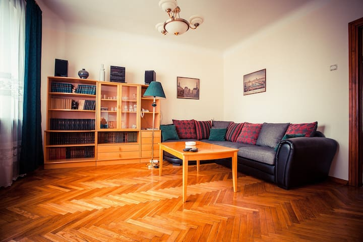 Spacious apartment with River view & balcony - Rīga - Apartment