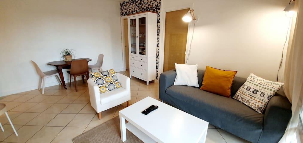 Appartement F3 Tout confort – 15 km de PARIS