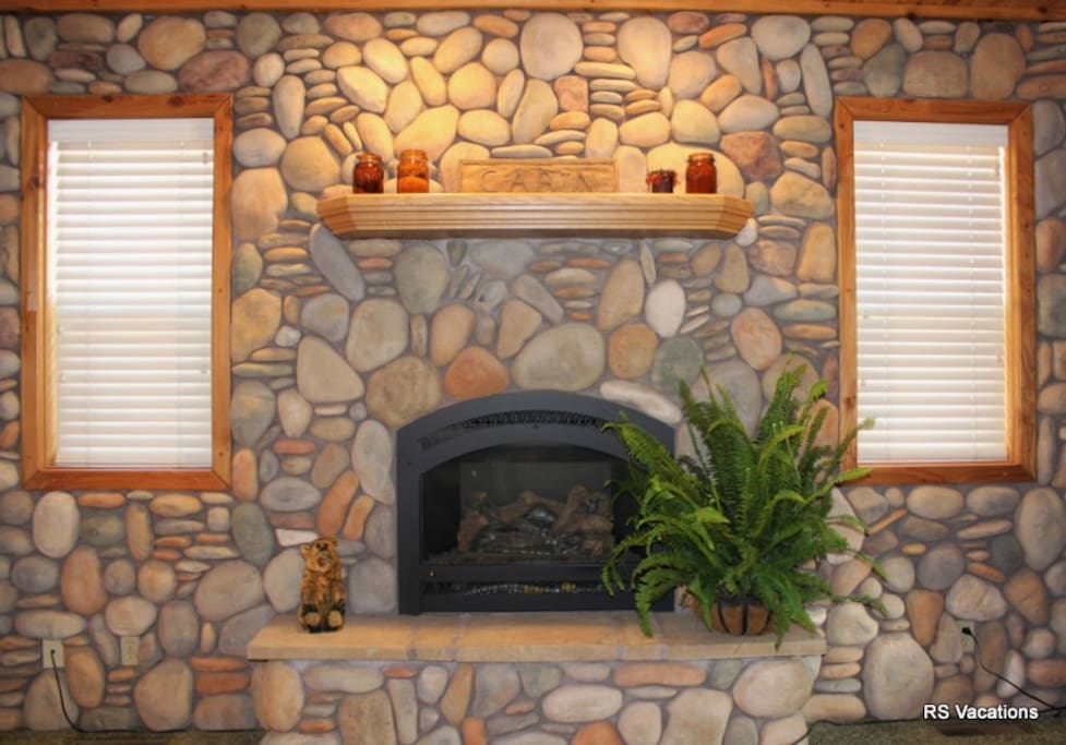 Brownie A Fireplace