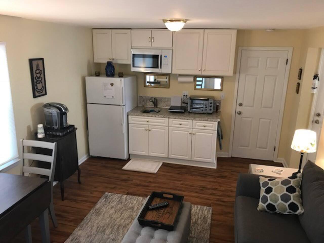 Living room / Kitchen / Dinning area