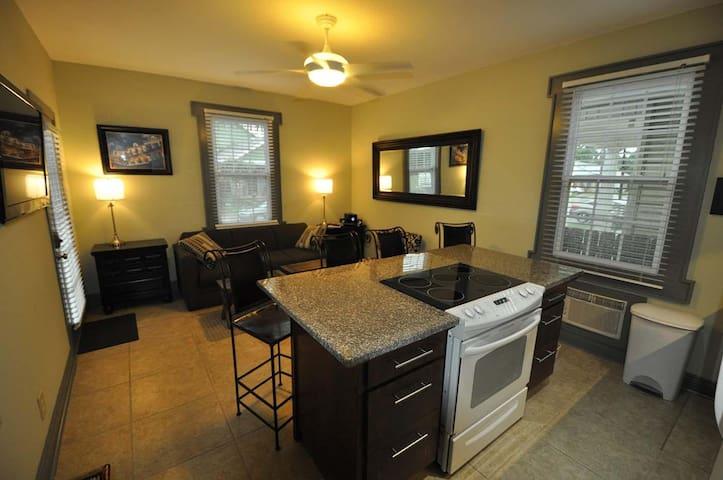 Camellia 1 bedroom 1 bath apartment home at Crescent Moon Villas