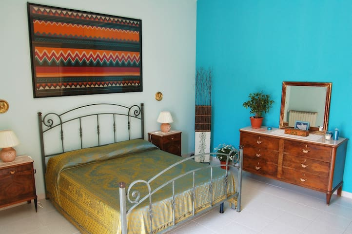 Casa Miele - Master bedroom Double bed - - Grumo Nevano - House