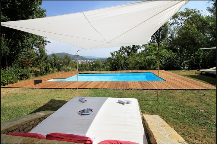 Villa Florence, luxe en Provence, proche Hyères