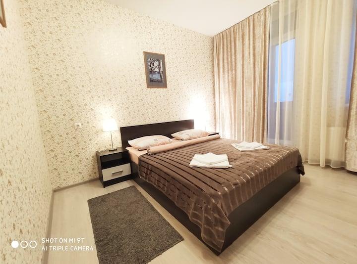 Удобная квартира для путешественников.
