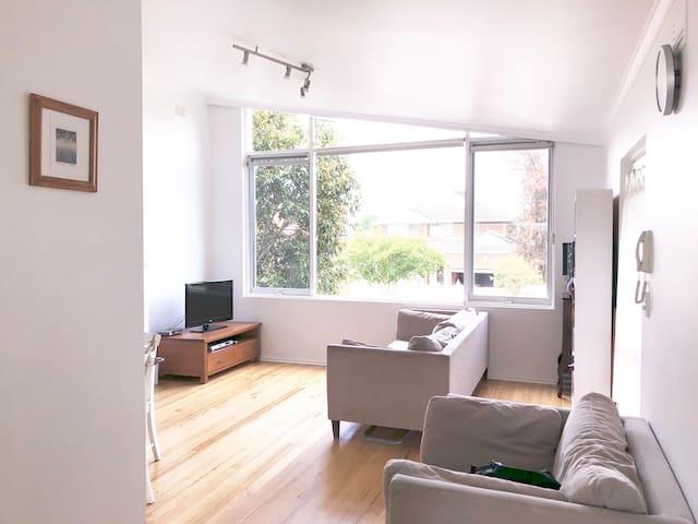Light-filled spacious Hawthorn East loft apartment