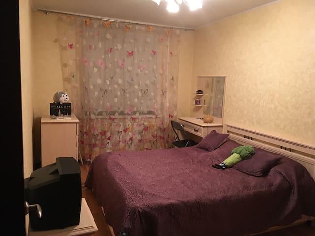 Уютная квартира возле ж/д станции «Купавна»