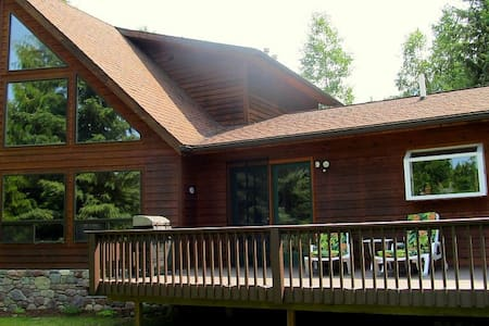 Glacier Riverside Lodge- Stunning River Views! - Hungry Horse - House - 1