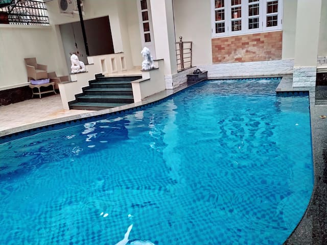 Vung Tau villa Ali7B with 3 bedrooms and a swimming pool