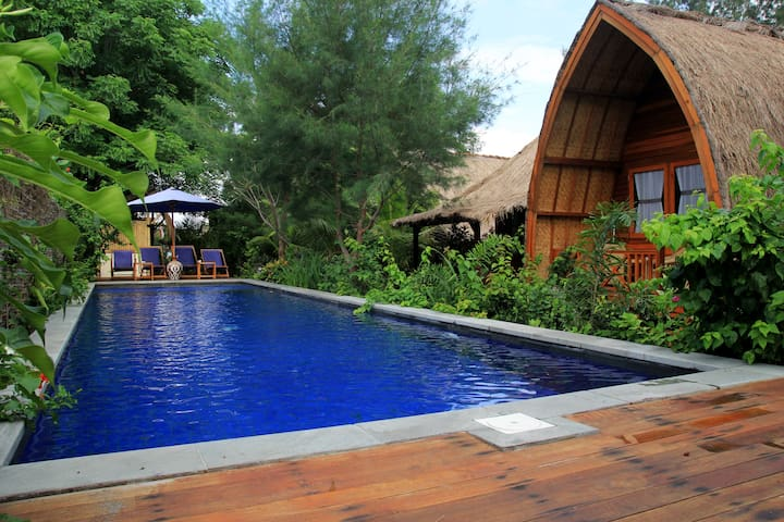 Damai Bungalows Gili Air - Pemenang - Bungalov