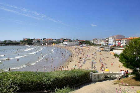 Pontaillac 350m plage