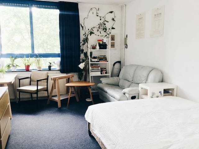 Cozy and artistic studio in Kralingen - Rotterdam - Lägenhet
