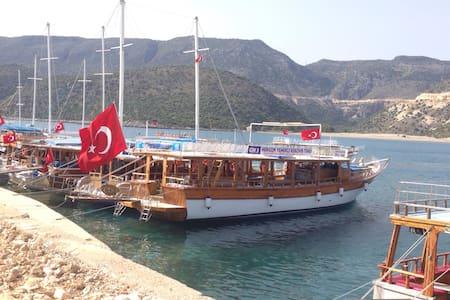 Kekovateknesi - อันตัลยา - เรือ