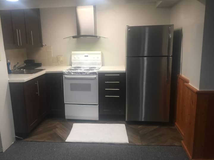 Entire basement with 1 bedroom
