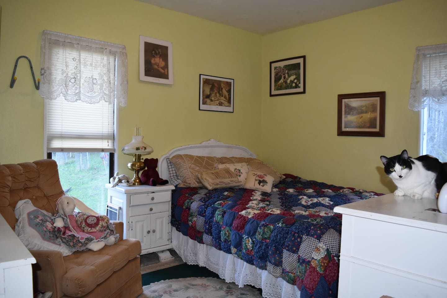 One of our rooms.
