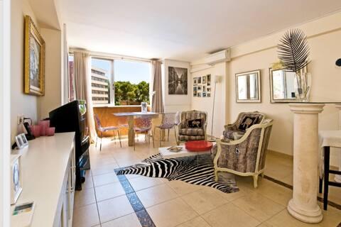 Joli appartement à 300m de la plage à Pto. Portails