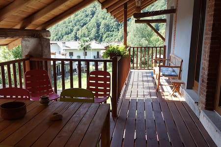 Postua Charming apartment near Lake Maggiore