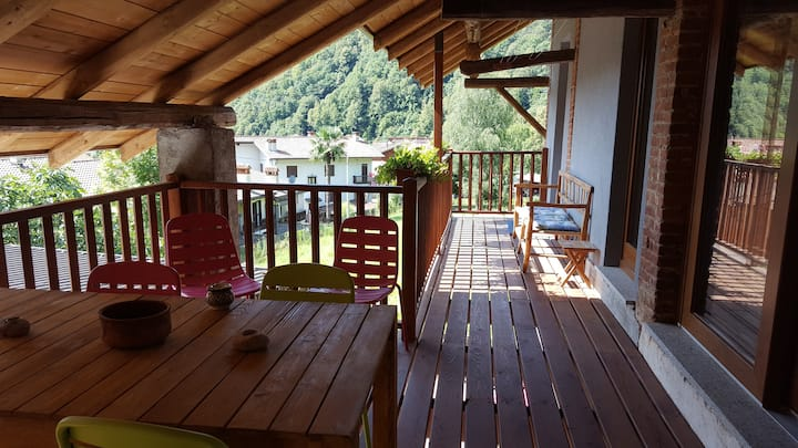Postua Charming apartment near Lake Maggiore