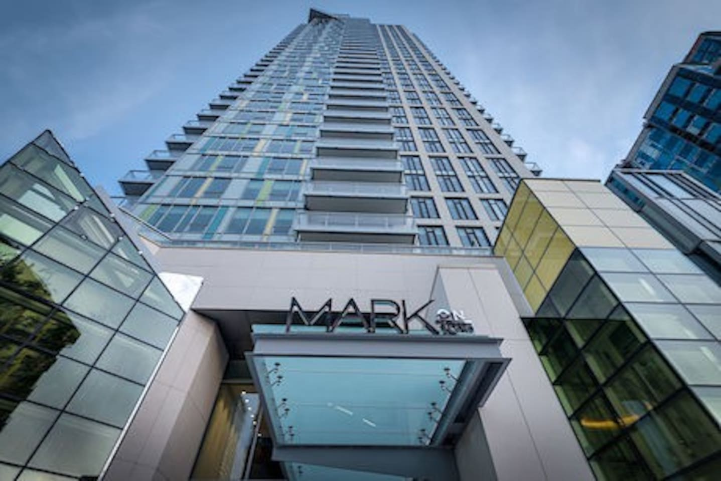 MARK ON 10TH BUILDING