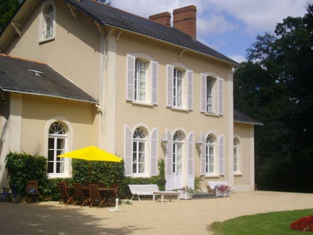 Chambres dans maison de maître - Nozay - Guesthouse