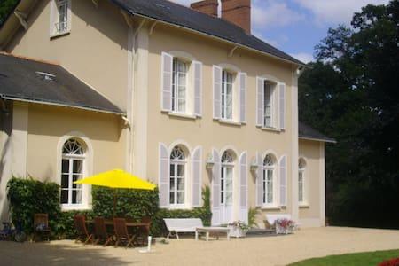 Chambres dans maison de maître - Nozay - Gästehaus
