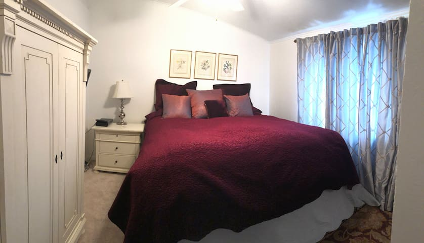Luxury Bedroom ,  New Aireloom mattress!