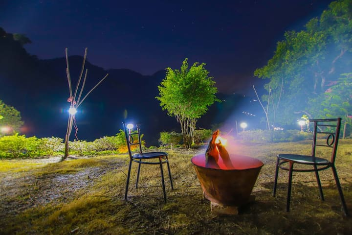 Camp Kuria 5 Kms  from Nainital  Lake via Off Road