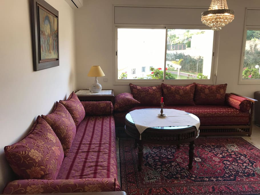 Moroccan couch