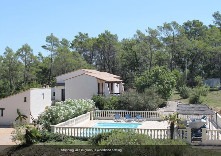 Seillans Villa in Provence South of France