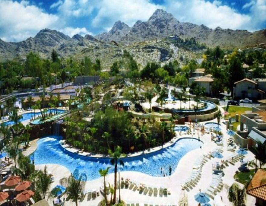 Pointe Squaw Peak amenities included in house rental.  Enjoy a day at the lazy river and water park!!