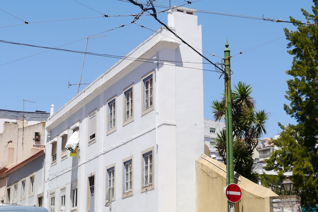 The Narrowest Building of Lisbon
