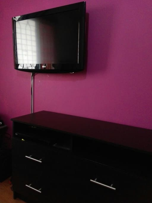 TV in the main room