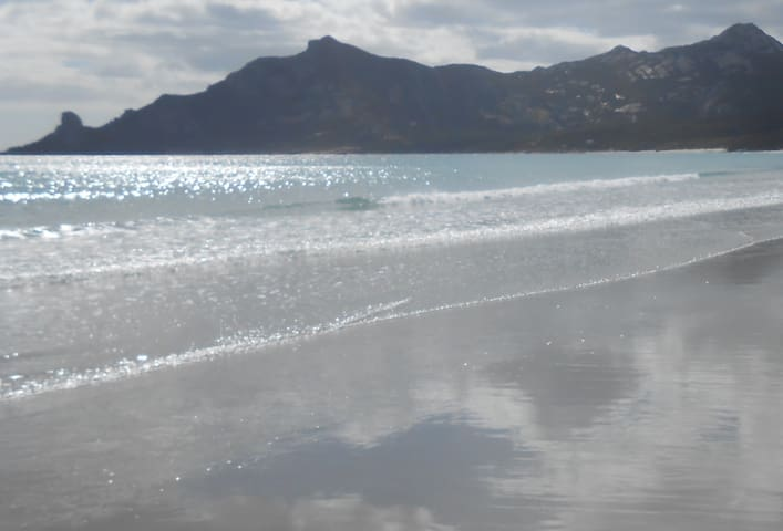 Killiecrankie beach, bay and mountain ... just a stones throw away