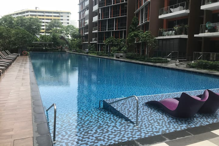 1 bedroom available in shared modern condo