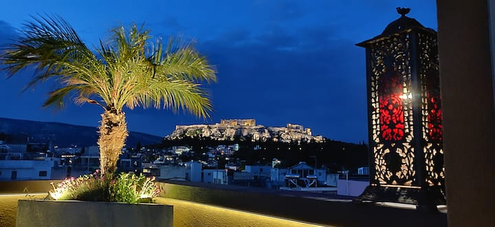 The Penthouse by the Acropolis