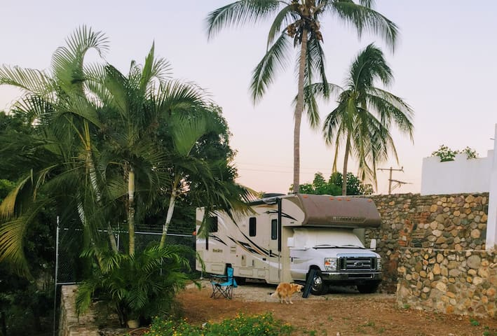 Hilltop RV  Site - water, sewage, and electric