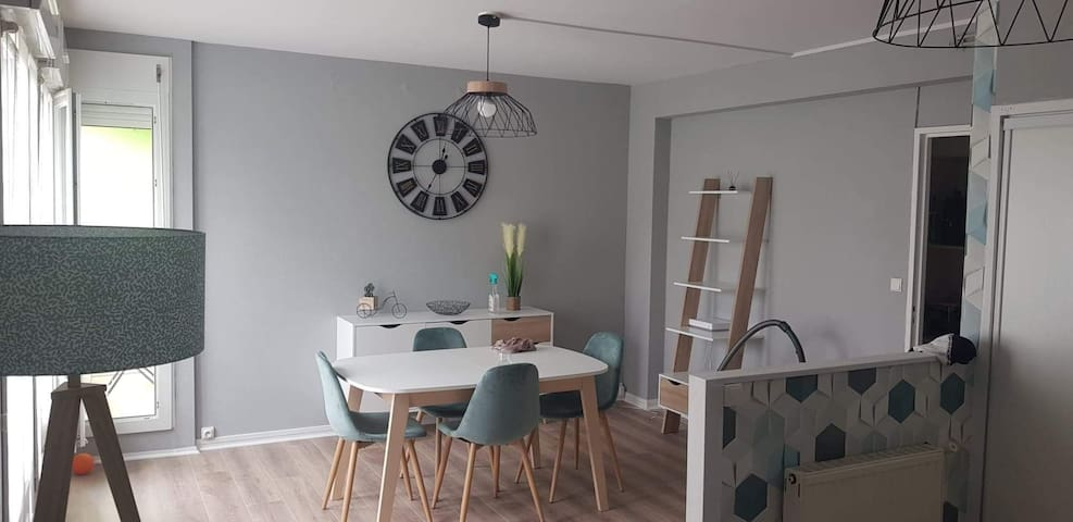 Appartement 4 pers très lumineux