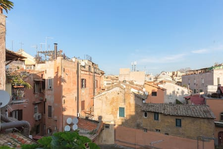 Wine house in heath of Rome, Trastevere - Roma - Apartment
