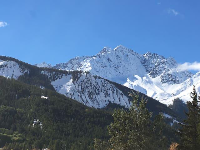T2 coin montagne neuf et au calme - Le Monêtier-les-Bains - Apartamento