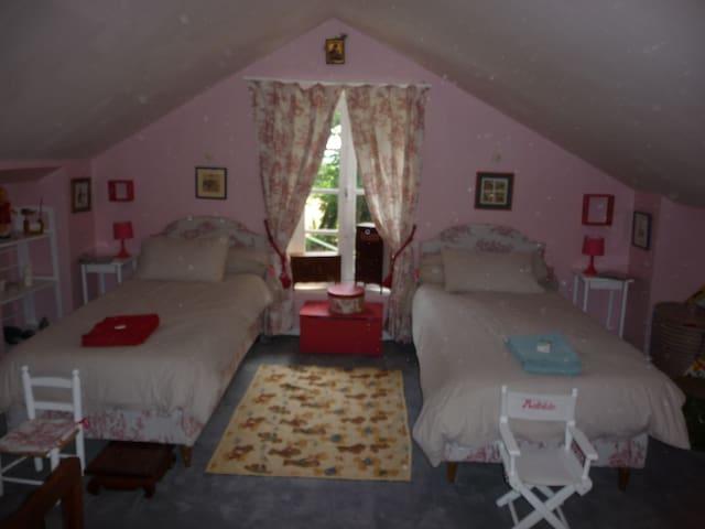 chambre au calme dans maison de maitre
