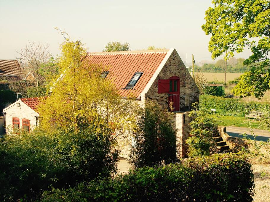 Situated in quiet village setting
