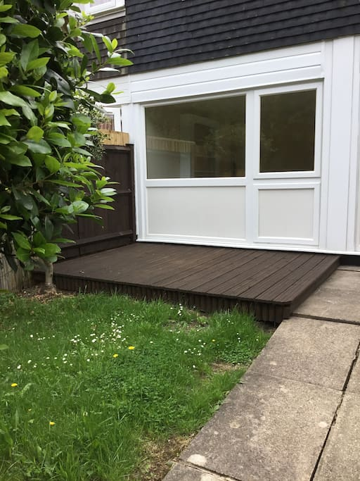 Decking Area for Your Relaxation