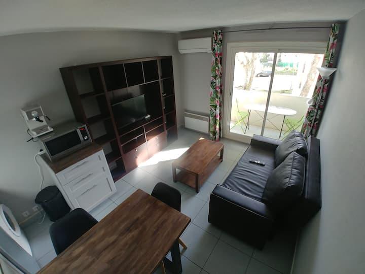 T2 (36m²) avec balcon et parking souterrain