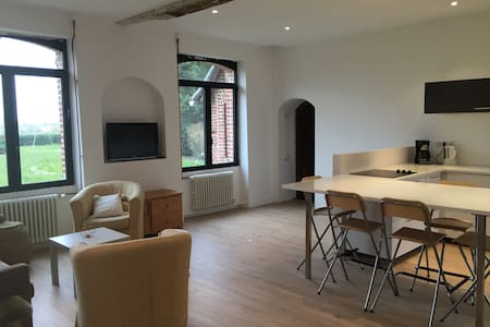 logement de 4 chambres, 10 personnes, 1h Paris - Noyers-Saint-Martin - บ้าน