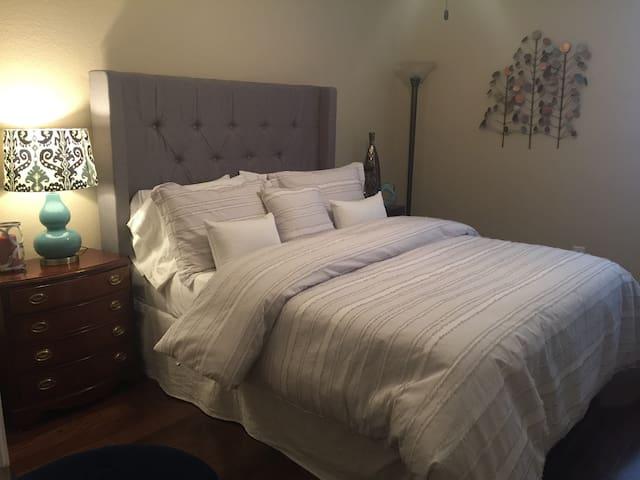 Bedroom view.