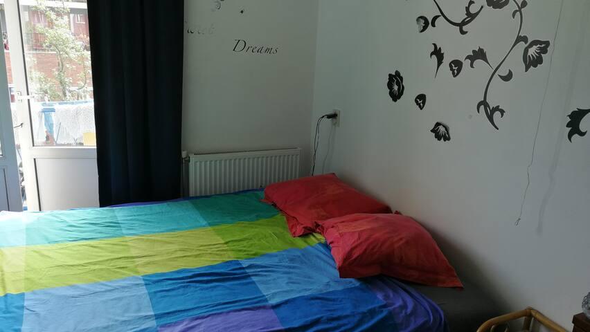 Privé bedroom in Amsterdam plein 40/45