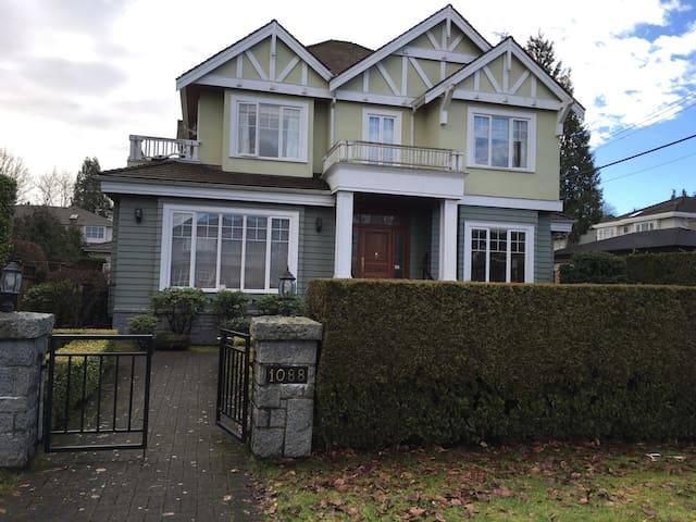 温哥华西区桑那斯别墅带独立卫生间豪华套房出租 - Vancouver - Villa